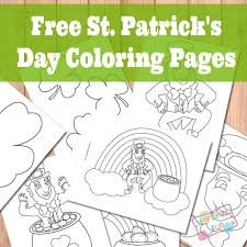 St Patrick S Day Coloring Pages Itsy Bitsy Fun