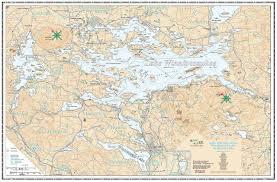 Lake Winnipesaukee Navigation Chart