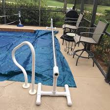 custom solar cover reels made on site solarcover poolservice solarblanket diy