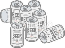 大量の缶ビールイラスト No 961122無料イラストならイラストac