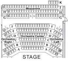 6th Street Playhouse Seating Chart 6th Street Playhouse G K Hardt Theatre Bay Area