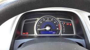 Honda Civic Oil Warning Light Reset Oil Maintenance Light 2008 To 2009 Honda Civic