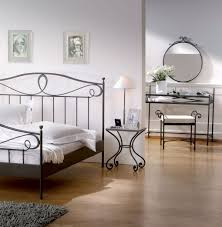iron bedroom furniture sets. View In Gallery Hasena Romantic Lurano Solid Wrought Iron Bedside Table Crop Bedroom Furniture Sets G