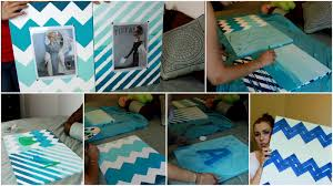 Diy Canvas Painting Diy Wall Ombre Painted Canvas Youtube
