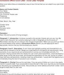 4 sentence cover letter cover letter for correctional officer the 4 sentence cover letter