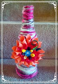 Quilling Home Decor Diy Home Decor Quilling Wool A Bottle Destinys Child