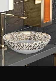 petal glass wash bowl