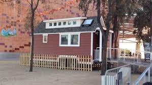Small Picture Tiny House on Display at California Science Center in LA