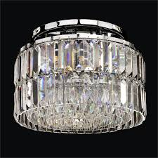 by aleah47 modern crystal ceiling light reflections 600 by glow lighting