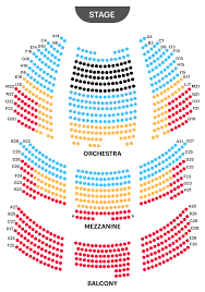 Wilson Theater Seating Chart Your A To Z Guide To Broadway Theater Seating Charts