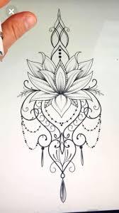 Disegno Del Tatuaggio Mandala Mandalatattoo Modelli Di Tatuaggi