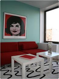 Decorating around Queen Anne red velvet chairs
