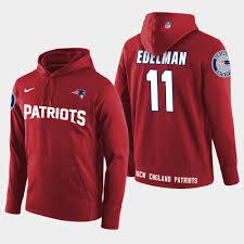 England Store Julian Edelman Jersey Patriots Fan Hoodie Nfl New