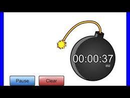 1 Minute Countdown 1 Minute Countdown Timer Alarm Clock Youtube Grade 3