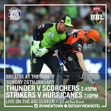 We have a BBL double header today live ...
