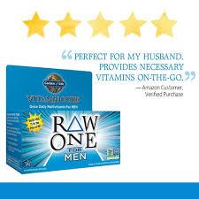 amazon garden of life multivitamin for men vitamin code raw one whole food vitamin supplement with probiotics vegetarian 75 capsules health