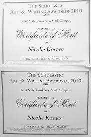 Accomplishments And Skills Nicolle Kovacs
