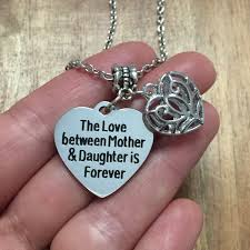 amazing our love will last forever pendant necklace for girl loving you is my eternal promise for man romance unique women men couple necklace