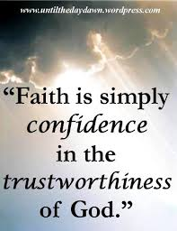 Christian Confidence Quotes Best Of Christian Quotes About Faith And Strength Faith Is Simply Confidence