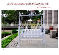 wrought iron metal garden swing chairs manufacture hanging garden swing chairs swing hanging chair