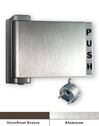 push handle. international commercial storefront door paddle handle push r. ph-4522 i