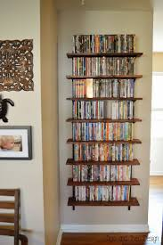 I am absolutely in love with our new DVD wall. We had to clear a
