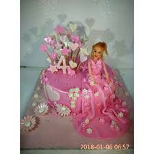 Buy Barbie Doll Cake Dc54 Online In Bangalore Order Barbie Doll