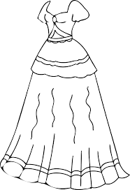 Small Picture Dress Coloring Pages Printable Wecoloringpage