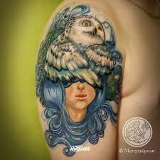 значение татуировки сова фото и эскизы тату сова Rustattooru