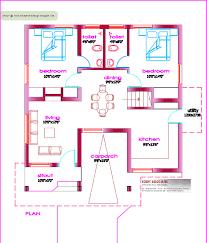 1000 Sq Ft House Plans 3 Bedroom Inspirational Single Floor House Plan 1000  Sq Ft