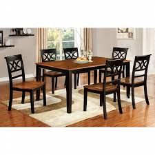 furniture of america dining sets. Furniture Of America Two-Tone Adelle 7 Piece Country Style Dining Set Sets