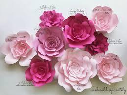 Diy Paper Flower Paper Flower Kits Paperflora