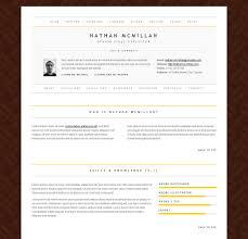 Minimalist Resume Template Minimalme Minimal Html Cv Resume