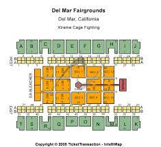 Del Mar Fairgrounds Tickets Del Mar Fairgrounds Seating