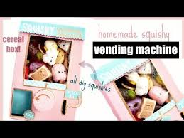 How To Make A Squishy Vending Machine Custom DIY SQUISHY VENDING MACHINE Video Mp48 Download