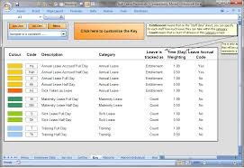 The Staff Leave Planner. A simple Excel planner to manage staff ...