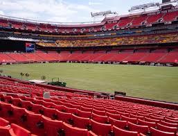 Fedex Field Section 118 Seat Views Seatgeek