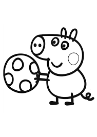 Small Picture peppa pig coloring pages 3jpg 595842 pixels Birthday party