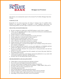 Foreclosure Processor Sample Resume Mortgage Loan Processor Resume Sidemcicek Com Entry Level Sample 23
