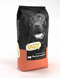 Корм для <b>взрослых собак Tasty</b>, со вкусом говядины в mirkorma.ru