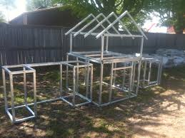 modern style outdoor kitchen framing with kit steel frame decorations 19