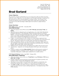 career objective sample resume  template