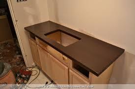 dark stained diy butcherblock countertop with an how to make a butcher block countertop out of