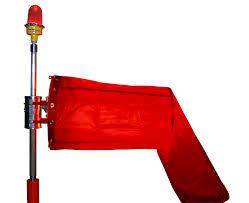 Windsock Pole Lights Fec Led Wind Cones Fec Heliports Equipment