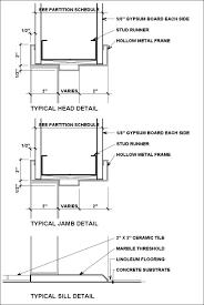 modern door jamb detail. Modren Modern FRAME DETAILS Intended Modern Door Jamb Detail