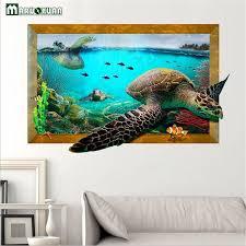 3d underwater wall art