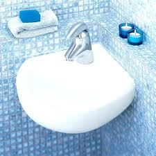 corner wall mount sink wall hanging sink commercial bathroom sinks corner wall mounted sink white