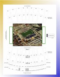 Carter Finley Stadium Seating Chart Rows Finley Stadium Seating Map