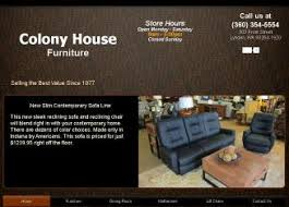 Colony House Furniture in Lynden WA