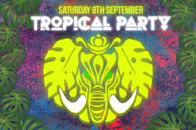 Rave Theme Party Tropical Rave Announced As Saturday Eklectica Theme Daily Echo